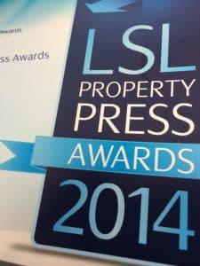 LSL Property Press Awards 2014
